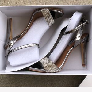 c849e96e290 Steve Madden Shoes -  Steve Madden  Pewter Ritter Sandal    In box